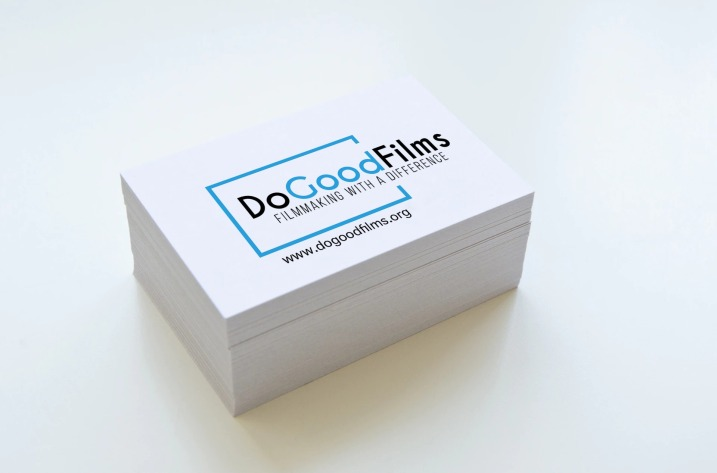 DoGoodFilms Business Cards