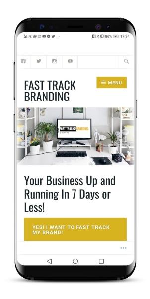 Fast track Branding mobile