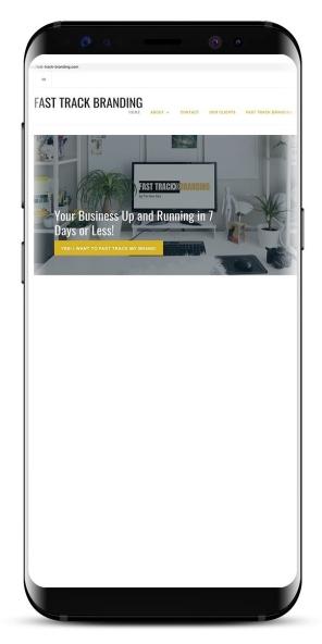 Fast Track Branding mobile-friendly