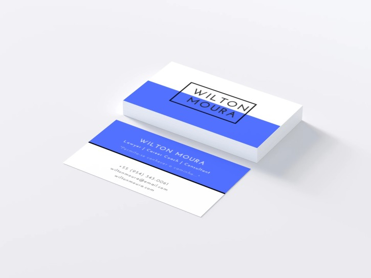 Wilton Moura business cards